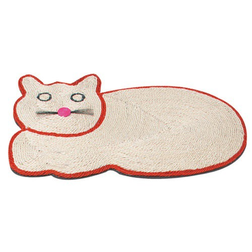 Rascador alfombra de sisal para gatos