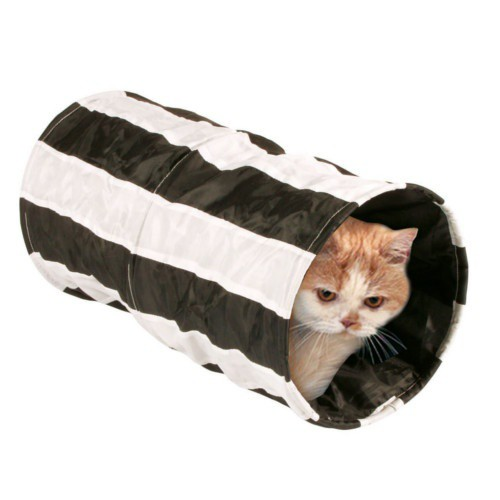 Túnel crujiente para gatos