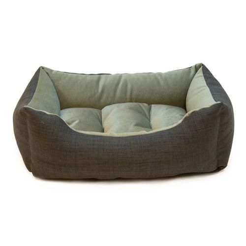Cuna para perros y gatos Wondermals Billie negro y gris