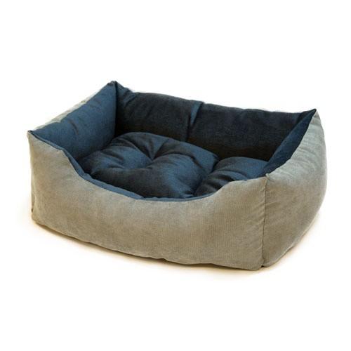 Cuna para perros y gatos Wondermals Duke gris y azul
