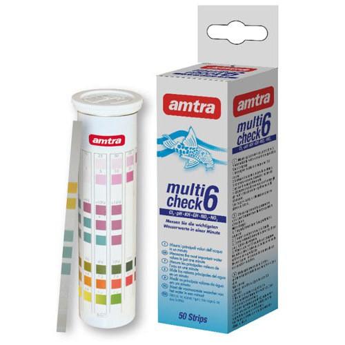 Test de agua Amtra Multicheck 6