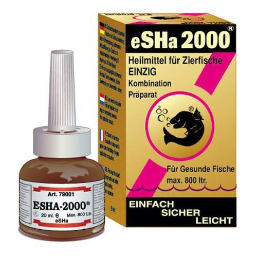 Tratamiento desinfectante para peces eSHa 2000