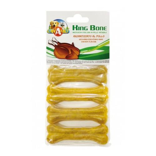 Hueso de cuero King Bone sabor pollo