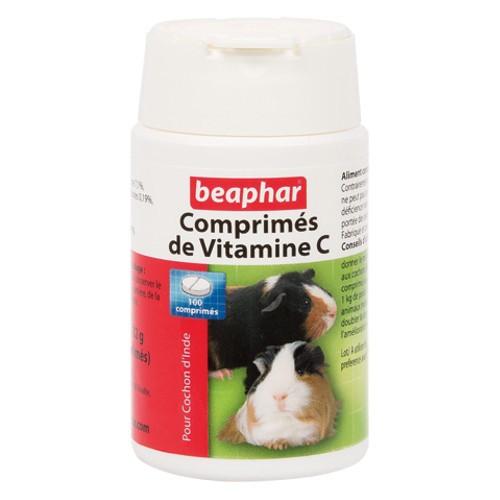 Vitamina C para cobayas Beaphar comprimidos