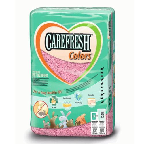 Lecho Carefresh Colors rosa para roedores