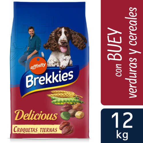 Brekkies Delicious pienso para perros con buey
