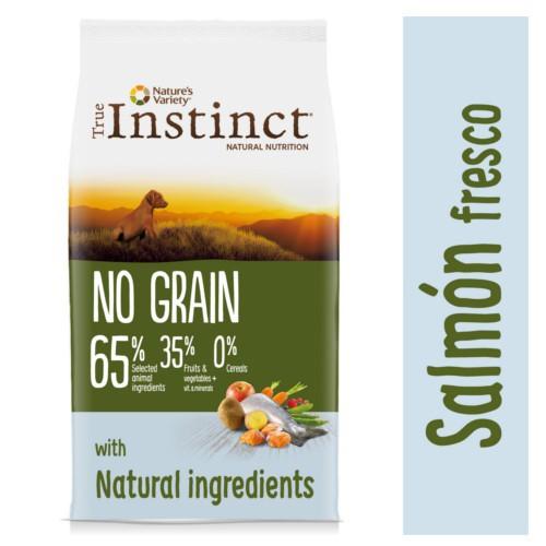 True Instinct No Grain con salmón para cachorros