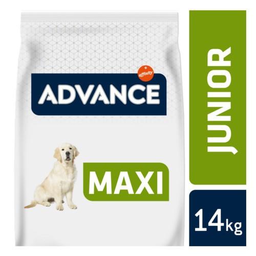 Pienso para perros Advance Maxi Junior
