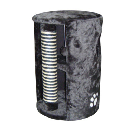 Torre suave con poste rascador para gatos
