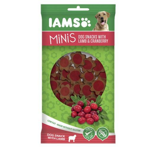 IAMS Minis de cordero con arándano para perros