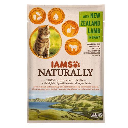 IAMS Naturally húmedo con cordero para gatos