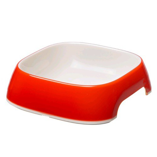 Plastic feeder red