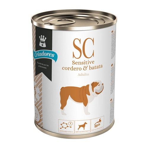 Alimento húmedo Criadores Dietetic Sensitive cordero y batata
