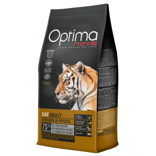 Pienso Optima Nova Adult Grain Free con pollo