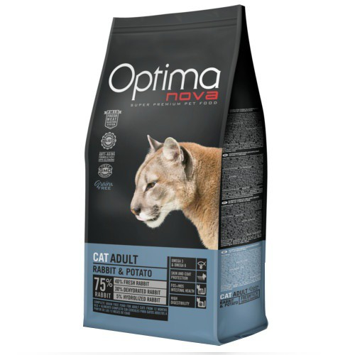 Pienso Optima Nova Adult Grain Free con conejo