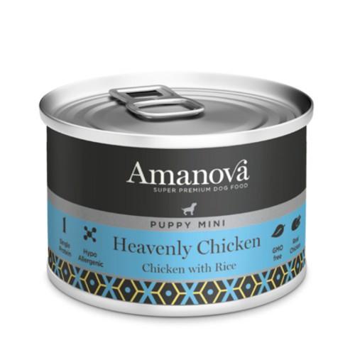 Amanova Puppy Mini con pollo y arroz