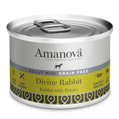 Amanova Adult Mini Grain Free conejo y patata