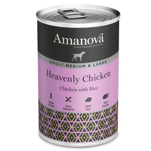 Amanova Adult Medium & Large pollo y arroz