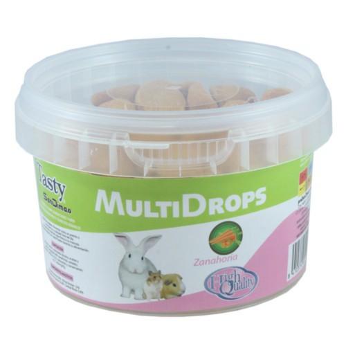 Snacks MultiDrops de zanahoria para roedores