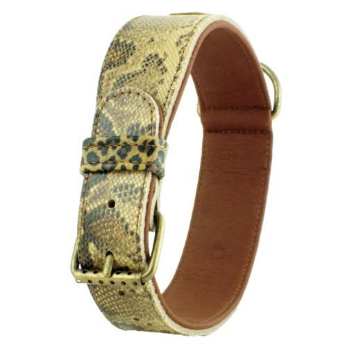 Collar estampado de leopardo Nairobi