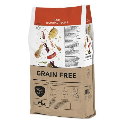 Pienso Natura Diet Grain Free Baby para cachorros