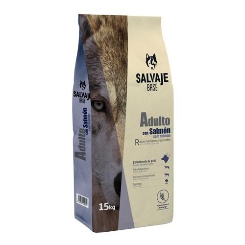 Pienso Salvaje Base con salmón para perros