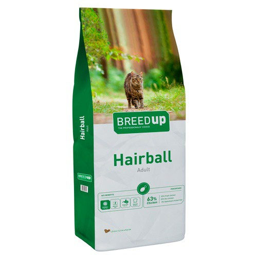 Cat food Breed Up Exigent