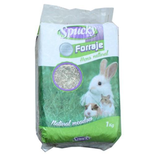Heno natural Spucky para conejos y roedores