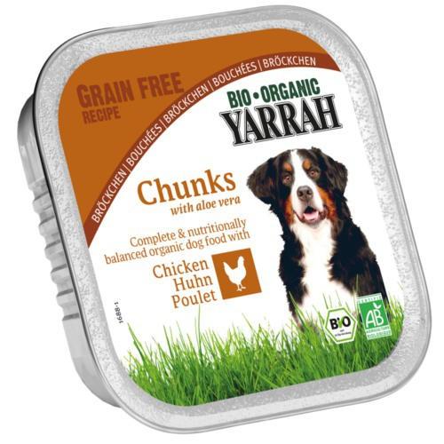 Bocaditos ecológicos Yarrah de pollo y aloe