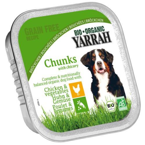 Bocaditos ecológicos Yarrah de pollo y vegetales