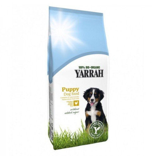 Organic food Yarrah Puppy for puppies
