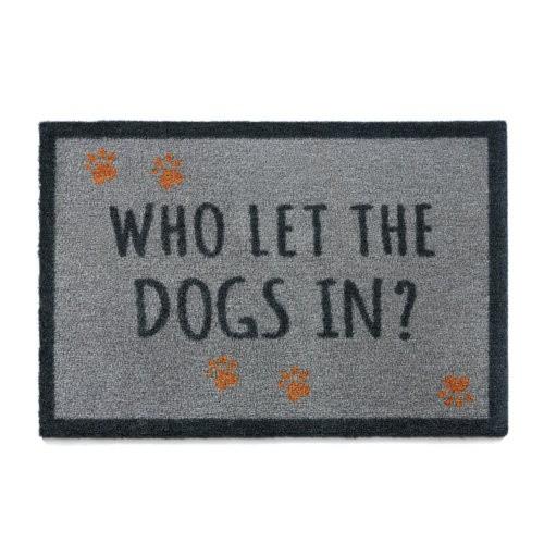 Felpudo perruno Dogs In gris