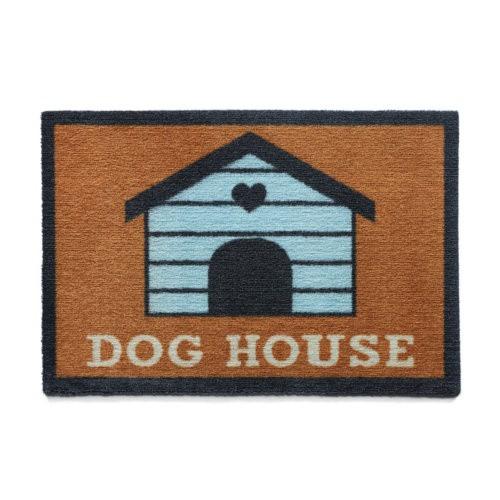 Felpudo perruno Dog House naranja