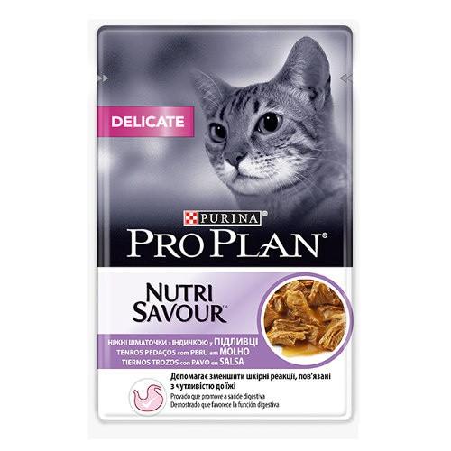 Purina Pro Plan Delicate pavo en salsa