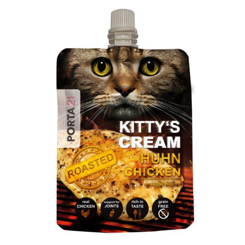 Snack cremoso Kitty's Cream de pollo