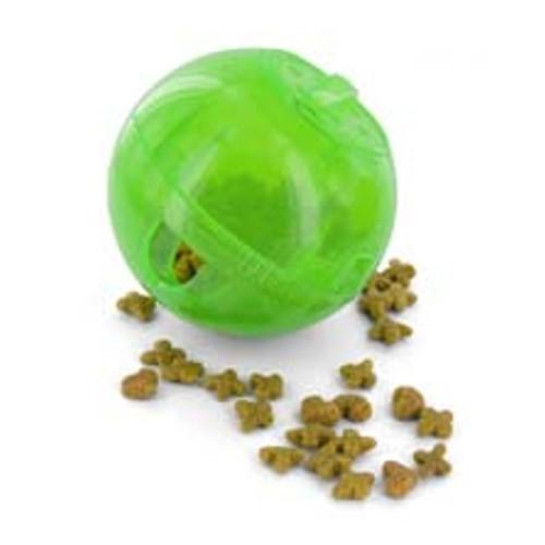 Pelota interactiva para comida Slimcat verde