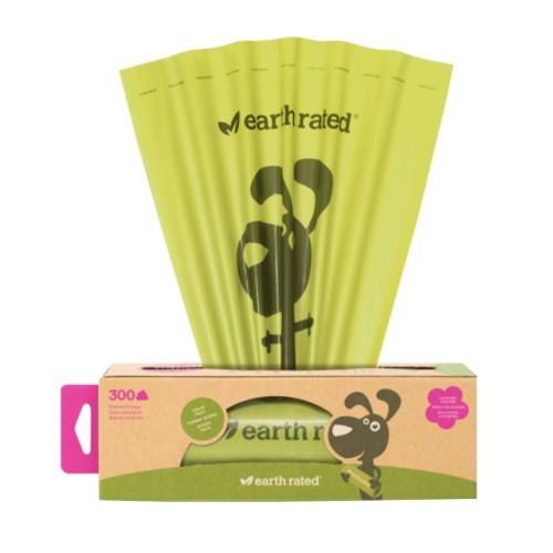 Dispensador con bolsas biodegradables con aroma a lavanda Earth Rated