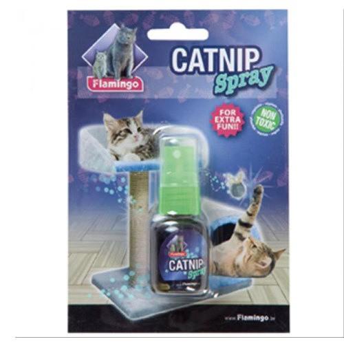 Spray estimulante de catnip para gatos