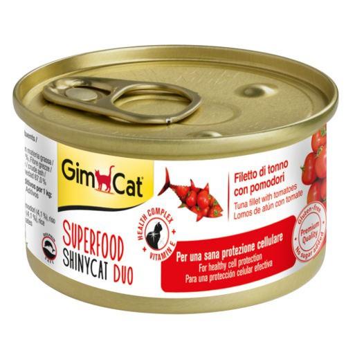 Comida húmeda GimCat de atún y tomate