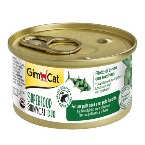 Comida húmeda GimCat de atún y calabacín