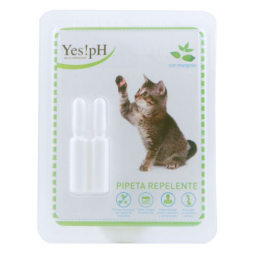 Pipeta repelente de insectos para gatos Yes!pH
