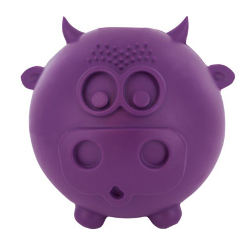 Pelota Busy Buddy vaca con dispensador