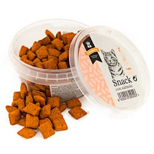Snack Criadores con salmón para gatos