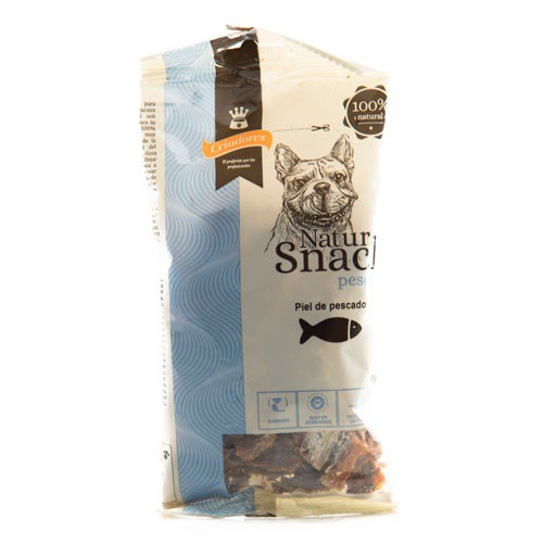 Natursnack para perros Criadores piel de pescado