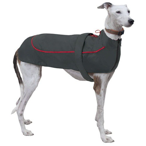 Chubasquero para perros X-Trek gris