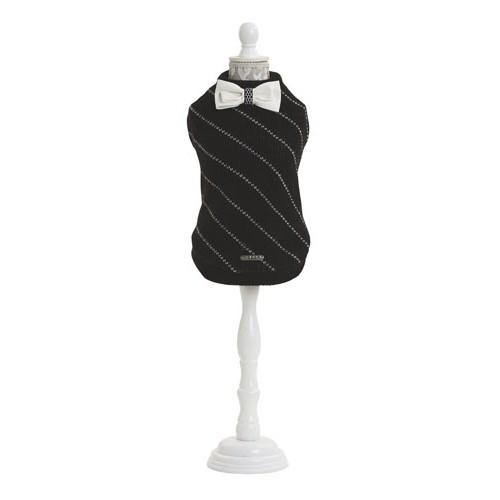 Jersey con pajarita de punto Bow Tie