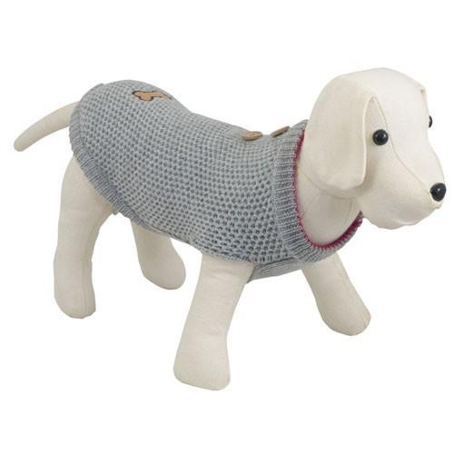 Jersey de punto invertido para perros Casual - Tiendanimal 978b283fb717