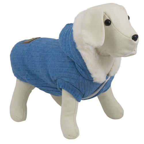 Jersey suave para perros South Pole azul