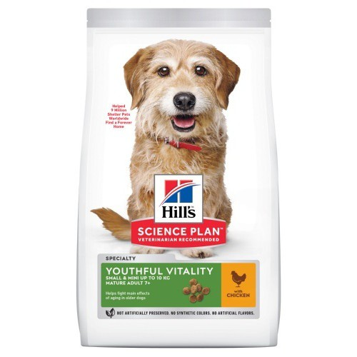 Hill's Youthful Vitality Mini 7  pienso para perros