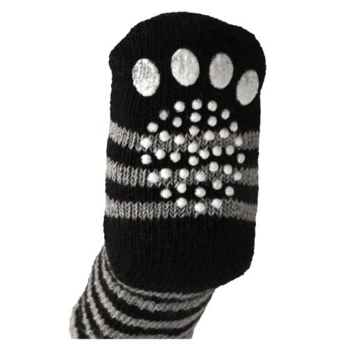Calcetines para perros negro y gris - Tiendanimal d4566bfa6b2